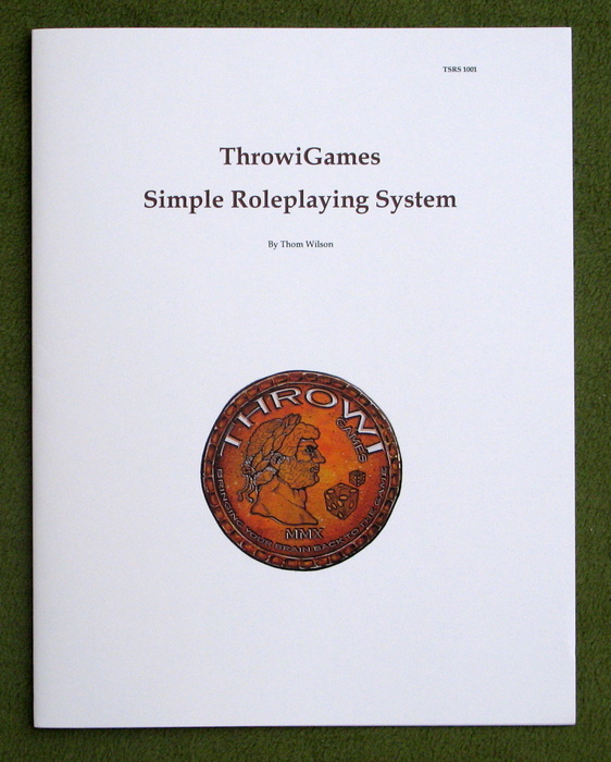 Image for Throwigames Simple Roleplaying System