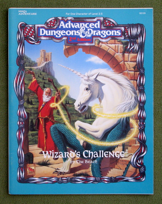 Image for Wizard's Challenge (Advanced Dungeons & Dragons Adventure HHQ2)