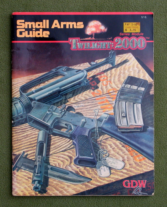 Image for Small Arms Guide (Twilight: 2000) - PLAY COPY