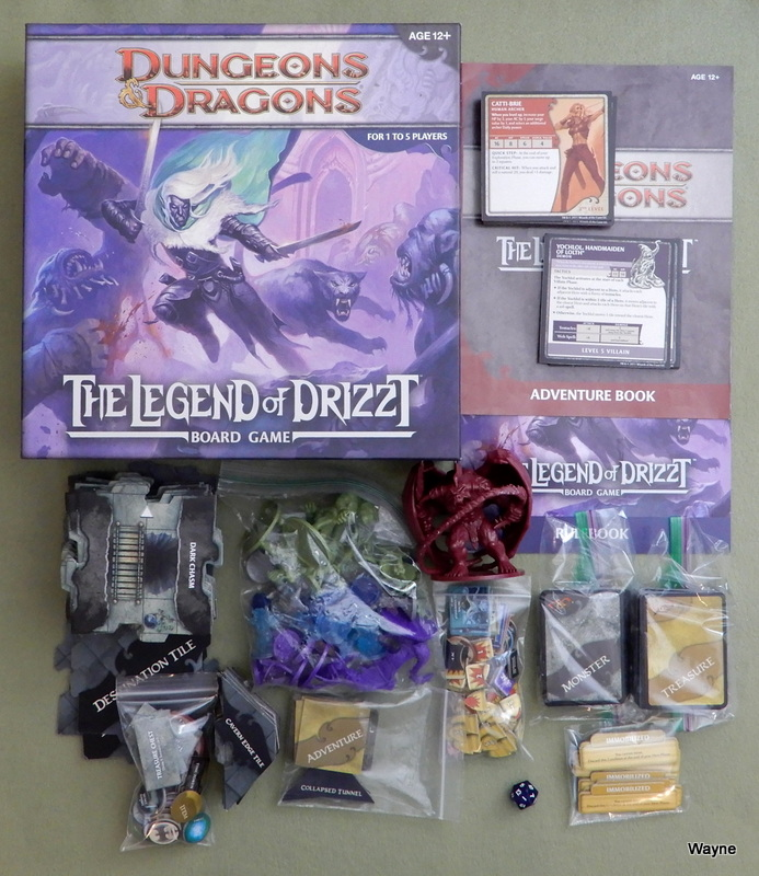 Image for The Legend of Drizzt Board Game (Dungeons & Dragons)