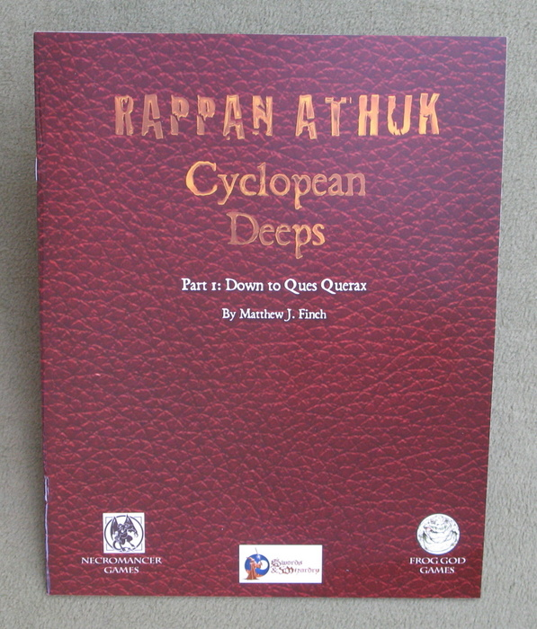 Image for Rappan Athuk - Cyclopean Deeps, Part 1: Down to Ques Querax (Swords & Wizardry)