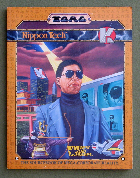Image for Nippon Tech: The Sourcebook of Mega-Corporate Reality (TORG)