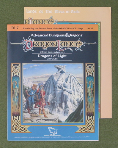 Image for Dragons of Light (Advanced Dungeons & Dragons: Dragonlance Module DL7)