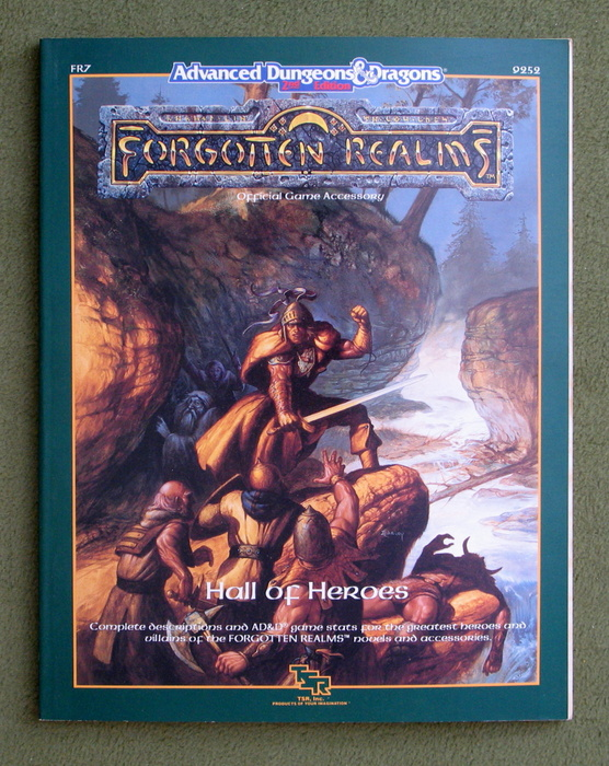 Image for Hall of Heroes (Advanced Dungeons & Dragons: Forgotten Realms accessory FR7)