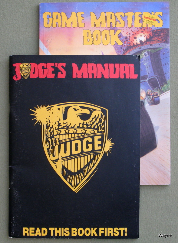 Image for Judge Dredd: The Role-Playing Game - BOOKS ONLY