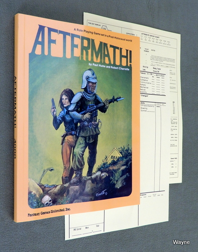 Image for Aftermath! - A Role Playing Game set in a Post-Holocaust world