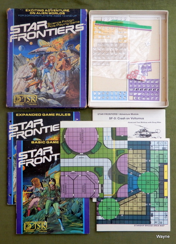 Image for Star Frontiers: Science Fiction Role Playing Game - PLAY SET