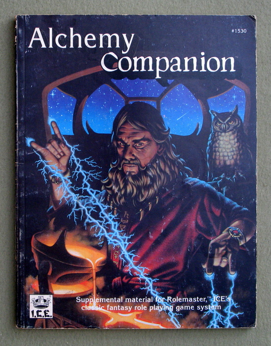 Image for Alchemy Companion (Rolemaster) - PLAY COPY