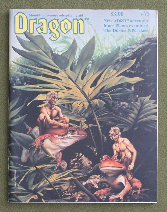 Image for Dragon Magazine, Issue 73
