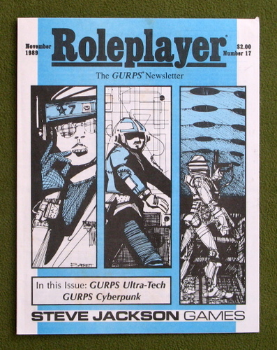 Image for Roleplayer, Number 17: The GURPS Newsletter (Magazine)