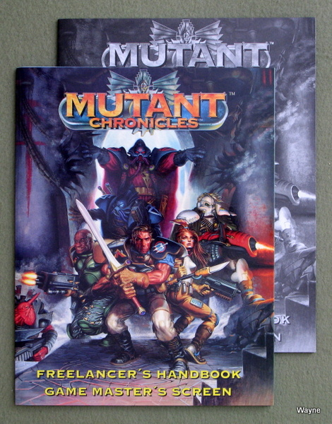 Image for Freelancer's Handbook / Game Master's Screen (Mutant Chronicles)