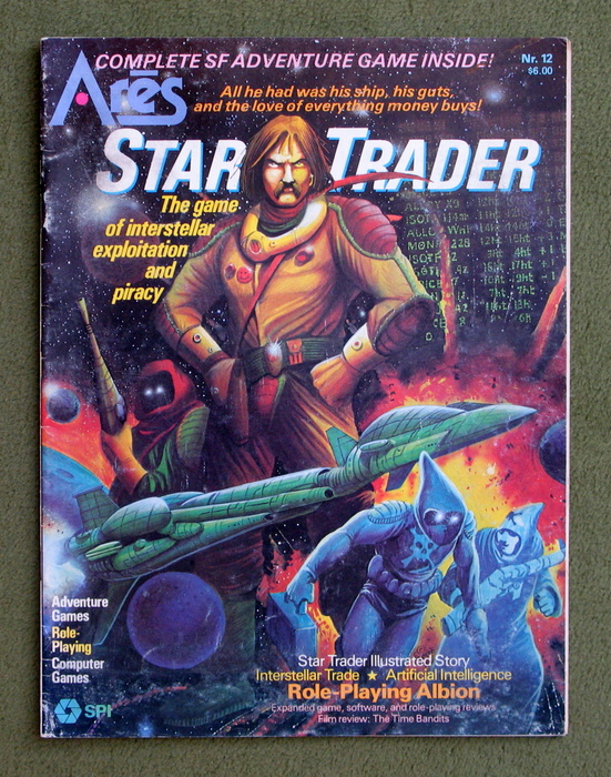 Image for Ares Magazine #12: Star Trader - MAGAZINE ONLY