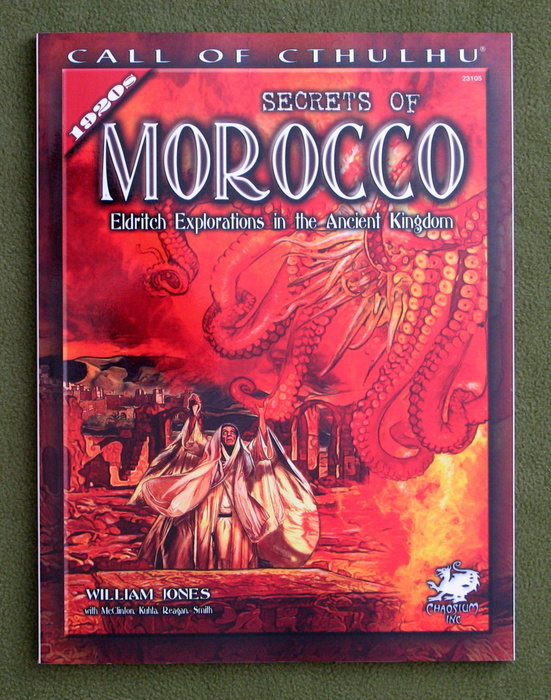 Image for Secrets of Morocco: Eldritch Explorations in the Ancient Kingdom (Call of Cthulhu Horror Roleplaying)