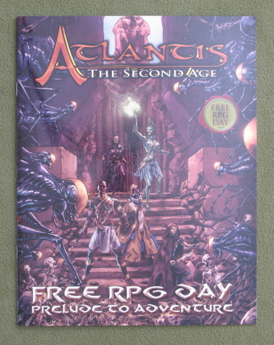 Image for Atlantis: The Second Age - Free RPG Day 2016 - Prelude to Adventure