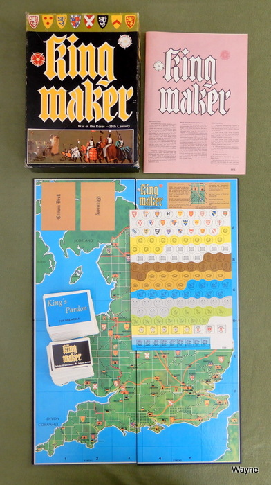 Image for Kingmaker: Game of the 15th Century English Civil War (1st Edition)