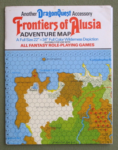 Image for Frontiers of Alusia: Adventure Map (Dragonquest) - PLAY SET