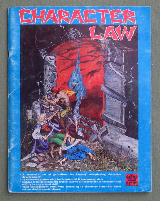 Image for Character Law, 1st Edition (Rolemaster) - PLAY COPY