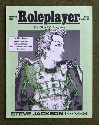 Image for Roleplayer, Number 18: The GURPS Newsletter (Magazine)