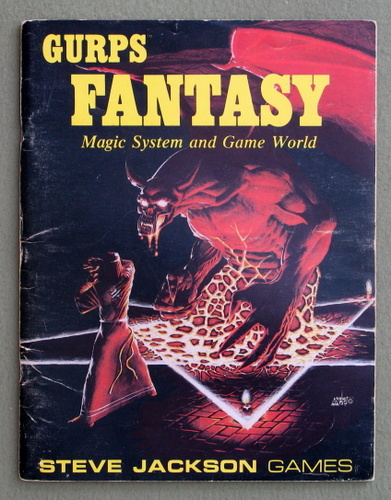 Image for GURPS Fantasy: Magic System and Game World - PLAY COPY