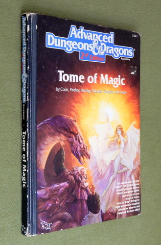 Image for Tome of Magic (AD&D, 2nd Edition) - WORN PLAY COPY
