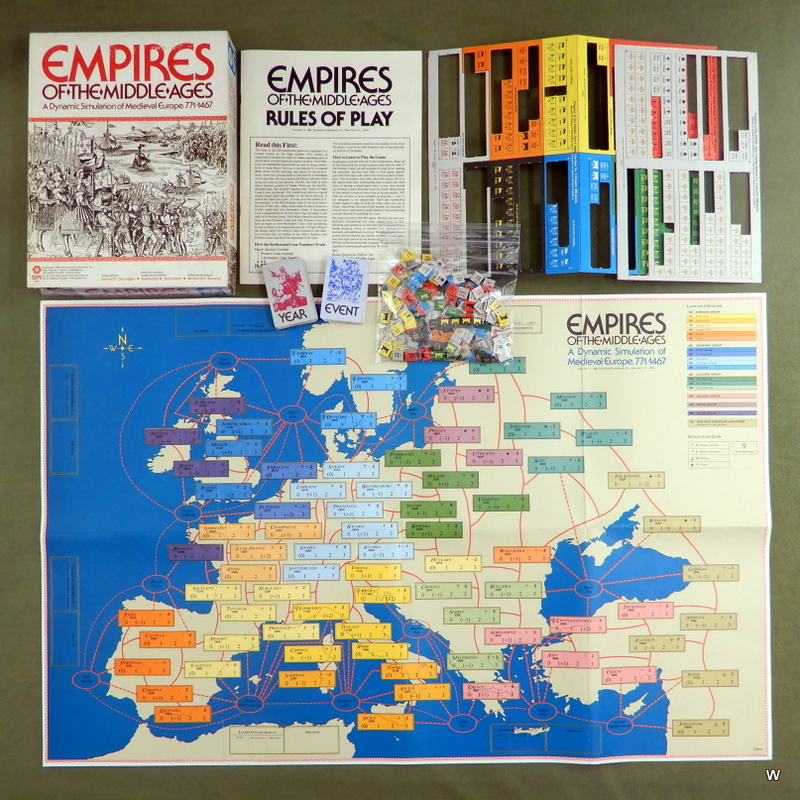 Image for Empires of the Middle Ages: A Dynamic Simulation of Medieval Europe, 771 - 1467