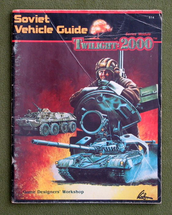 Image for Soviet Vehicle Guide (Twilight : 2000) - PLAY COPY