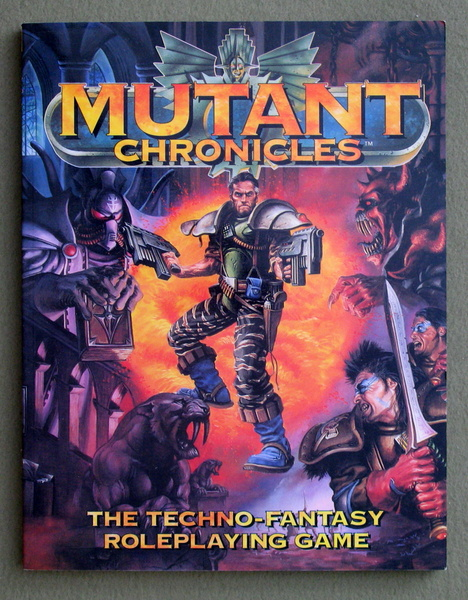 Image for Mutant Chronicles: The Techno-Fantasy Roleplaying Game
