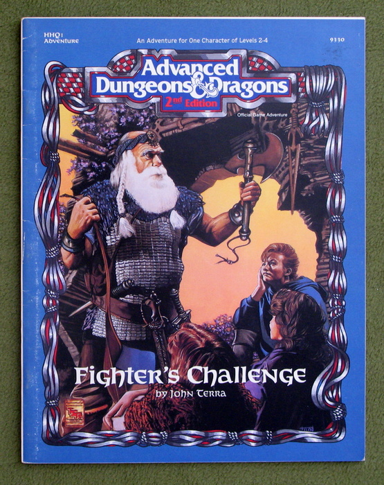 Image for Fighter's Challenge (Advanced Dungeons & Dragons Module HHQ1)