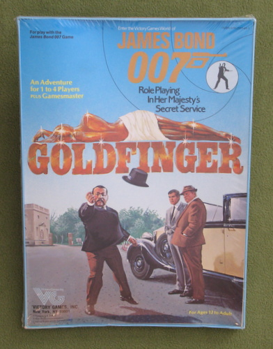 Image for Goldfinger (James Bond 007 RPG) - LIDLESS EDITION