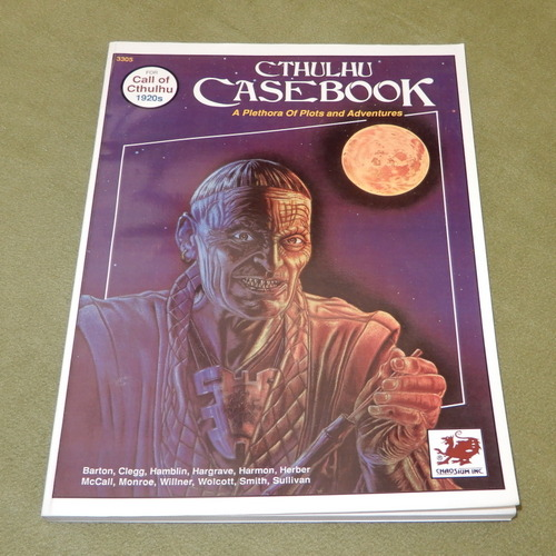Image for Cthulhu Casebook: A Plethora of Plots and Adventures for Call of Cthulhu 1920s