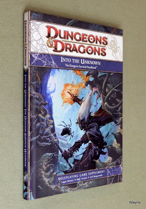 Image for Into the Unknown: The Dungeon Survival Handbook  (Dungeons & Dragons, 4th Edition)