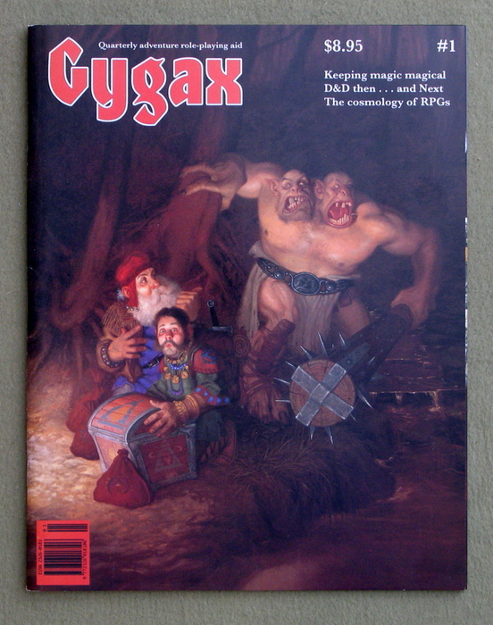 Image for Gygax Magazine, Issue 1 - SIGNED
