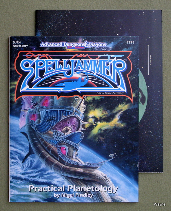 Image for Practical Planetology (Advanced Dungeons & Dragons: Spelljammer Module SJR4)