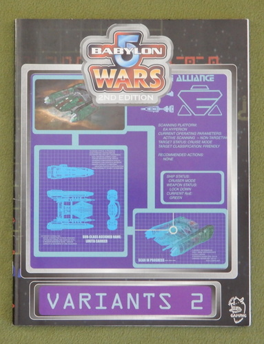 Image for Variants 2 (Babylon 5 Wars, 2nd edition)