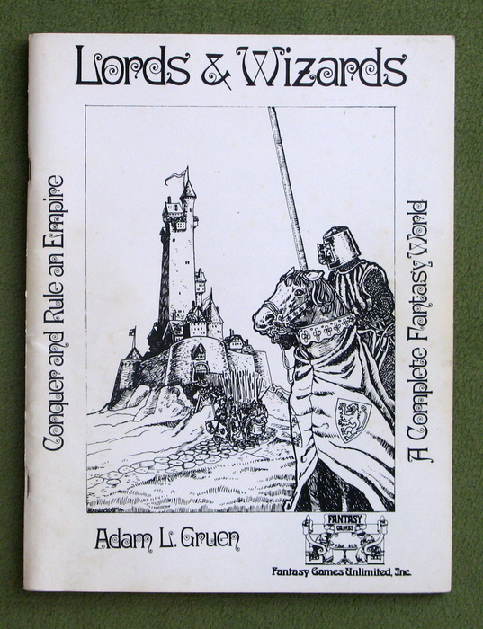 Image for Lords & Wizards: Rulebook