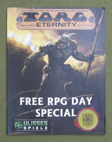 Image for TORG ETERNITY - Free RPG Day 2017
