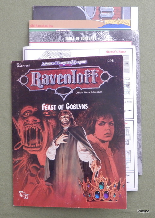 Image for Feast of Goblyns (Advanced Dungeons & Dragons / Ravenloft Module RA1)