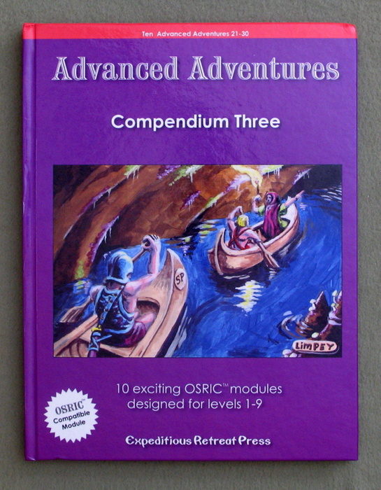 Image for Advanced Adventures: Compendium Three
