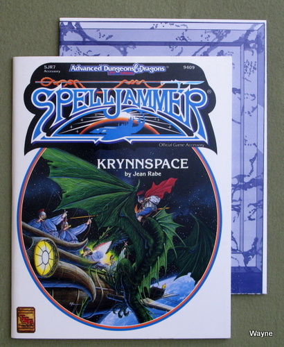 Image for Krynnspace (Advanced Dungeons & Dragons/Spelljammer Accessory SJR7)