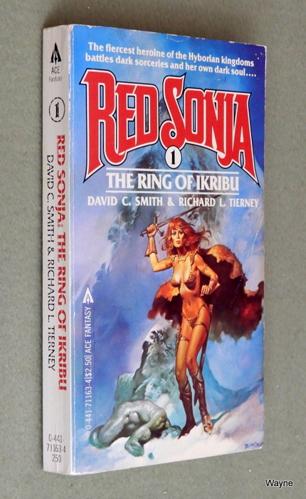 Image for The Ring of Ikribu (Red Sonja, #1)