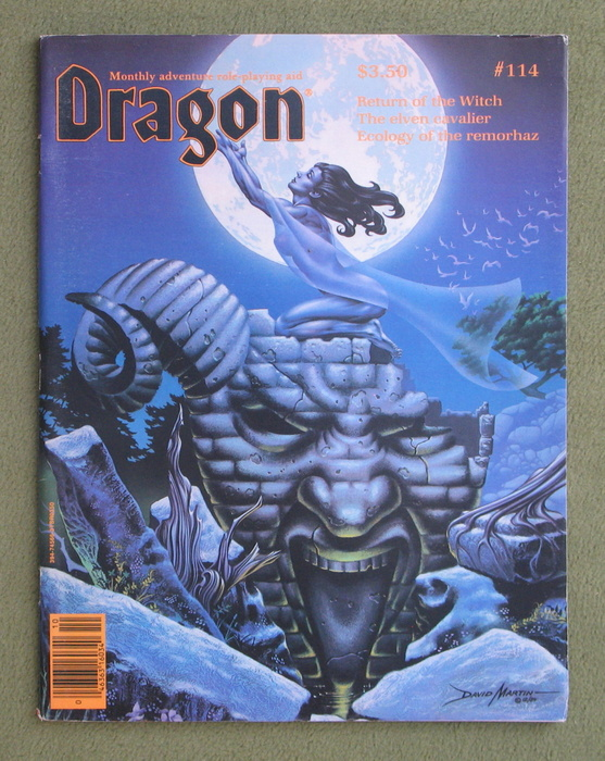 Image for Dragon Magazine, Issue 114