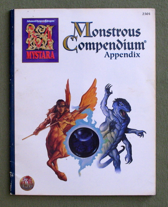 Image for Mystara Monstrous Compendium Appendix (Advanced Dungeons & Dragons, 2nd Edition)