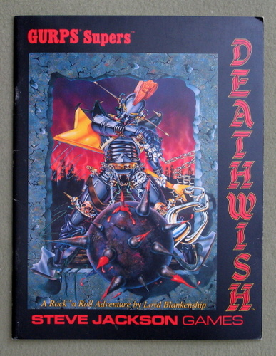 Image for Deathwish (GURPS Supers)