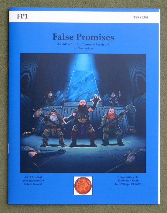 Image for False Promises (FP1: BECMI Edition)