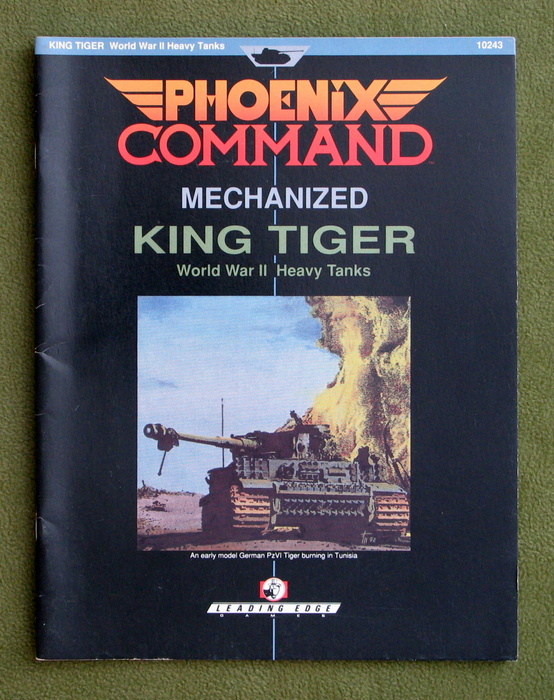 Image for King Tiger: World War II Heavy Tanks (Phoenix Command Mechanized)