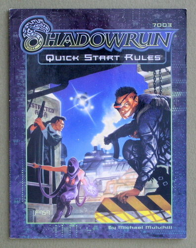Image for Shadowrun: Quick Start Rules