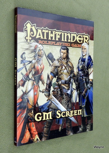 Image for GM SCREEN: Pathfinder Roleplaying Game