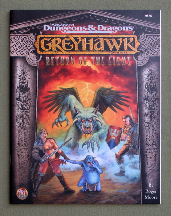 Image for Return of the Eight (Advanced Dungeons & Dragons: Greyhawk)