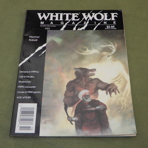 Image for White Wolf Magazine, Issue 23 (Horror Issue)