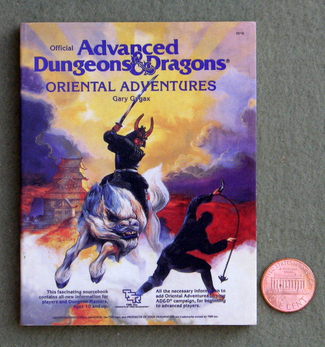 Image for Oriental Adventures (Miniature AD&D Collector's Edition)